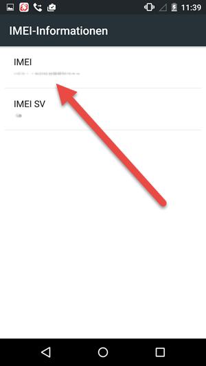 imei nummer - IMEI und Seriennummer herausfinden unter Android