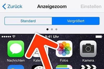 standard - Homescreen dreht nicht bei iPhone 6 Plus