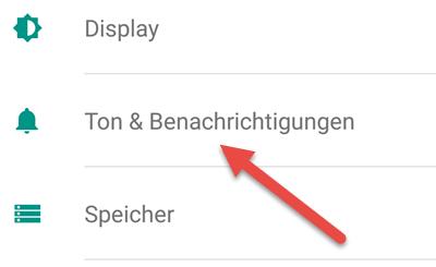 ton benachrichtigung - Benachrichtigung von App deaktivieren bei Android