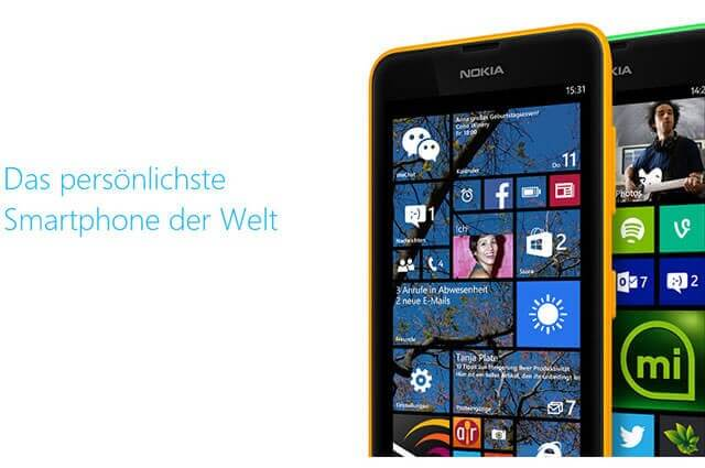 windows phone 81 640x425 - Windows Phone 8.1 – Informationen zum neuen Handy Betriebssystem