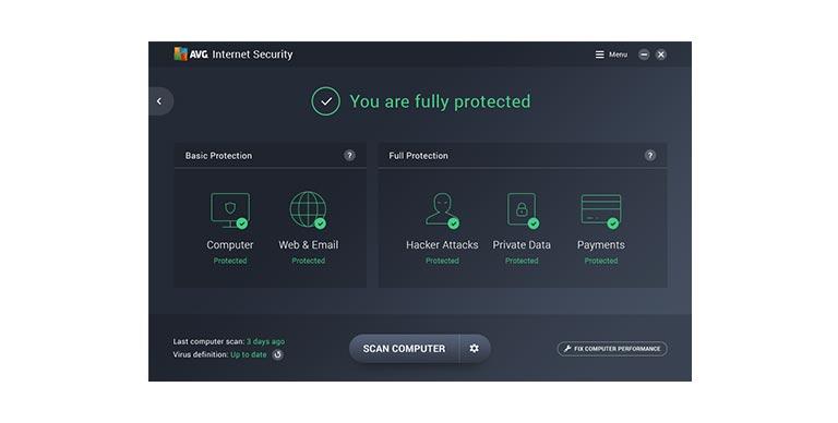 avg internet security 2018 kostenlos - AVG Internet Security 2018 (Jahreslizenz) kostenlos
