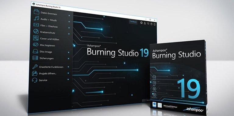 ashampoo burning studio 19 - Ashampoo Burning Studio 19 – Brennen, kopieren und sichern – Wir verlosen 5 Lizenzen