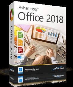 box ashampoo office 2018 - Ashampoo Office 2018 – Office Lösung für Textdokumente