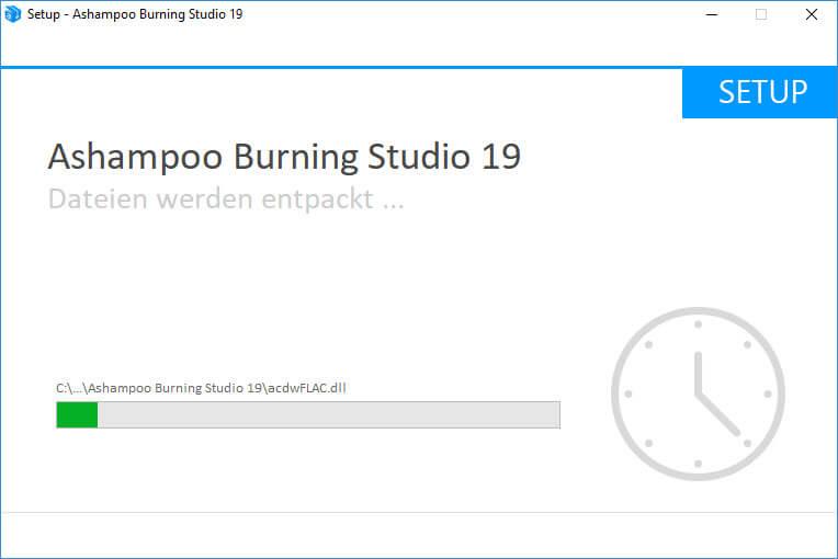 installation - Ashampoo Burning Studio 19 – Brennen, kopieren und sichern – Wir verlosen 5 Lizenzen