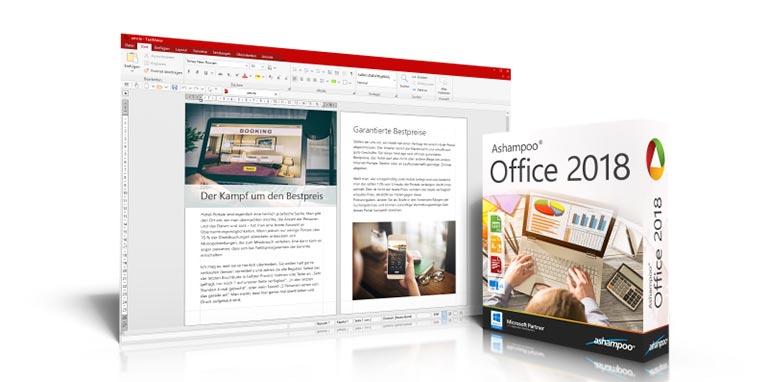 office 2018 - Ashampoo Office 2018 – Office Lösung für Textdokumente