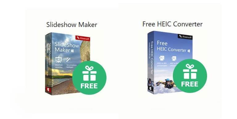 slideshow maker free heic converter - Sildeshow Maker und HEIC Converter kostenlos bei Aiseesoft und mehr