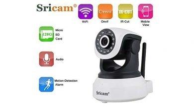 sricam sp017 ip kamera 720p wlan ueberwachungskamera 390x220 - Sricam SP017 IP Kamera 720P Wlan Überwachungskamera für nur 19,99 € statt 39,99 €