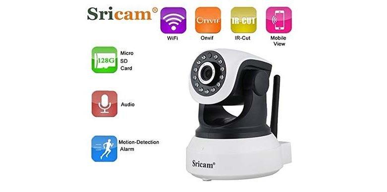 sricam sp017 ip kamera 720p wlan ueberwachungskamera 780x388 - Sricam SP017 IP Kamera 720P Wlan Überwachungskamera für nur 19,99 € statt 39,99 €