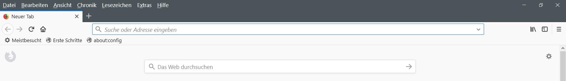 """adressleiste - Firefox  """"Suche"""" in neuem Tab öffnen"""