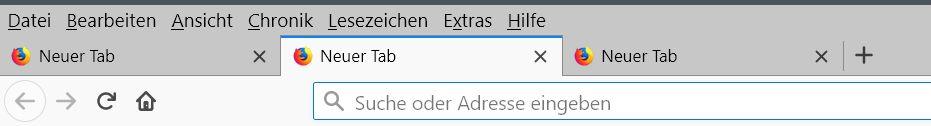 aktiver tab standard - Firefox   dem aktiven Tab einen farblichen Hintergrund geben