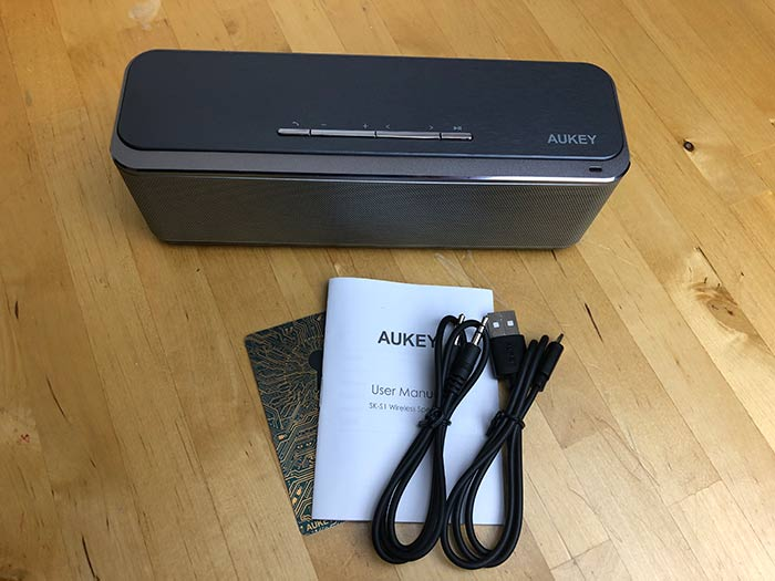 aukey sk s1 1 - Aukey SK-S1 Bluetooth Lautsprecher ausprobiert