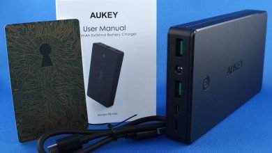 img 0282 390x220 - AUKEY 20000mAh External Battery Charger