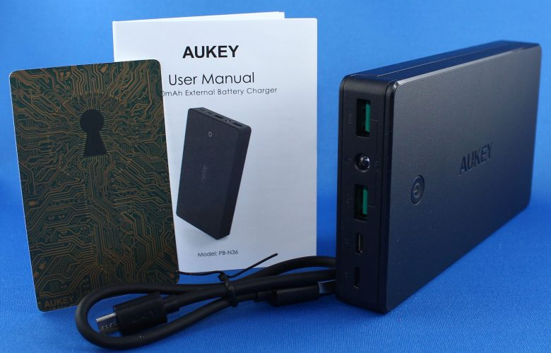 img 0282 780x500 - AUKEY 20000mAh External Battery Charger