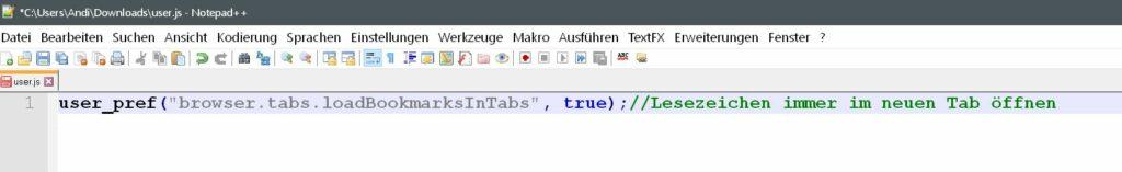 user.js datei 1024x157 - Firefox und about:config