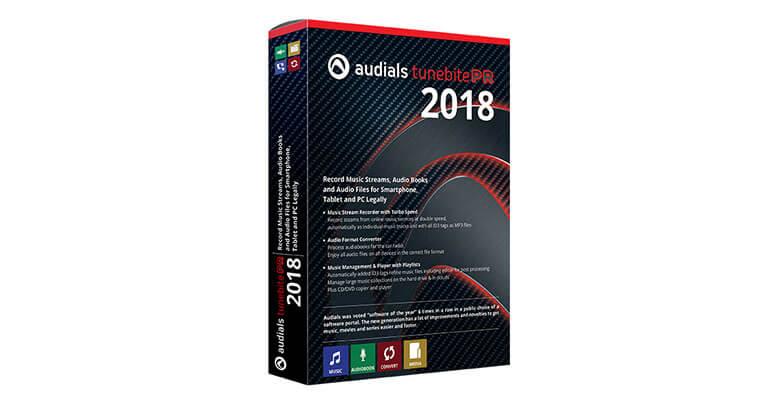 audials tunebite premium 2018 - Audials Tunebite 2018 Premium - Wir verlosen 5 Lizenzen
