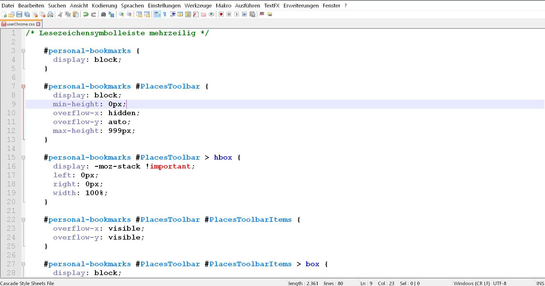 css code 1