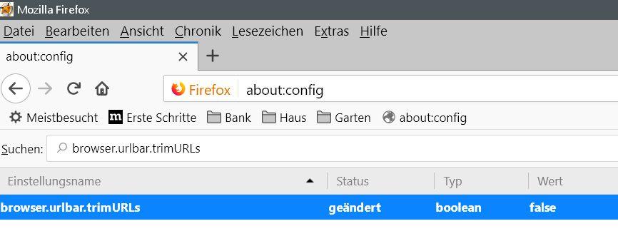 nachher 1 - Firefox auch die http Anzeige wieder vor jedem Url in der Adressleiste anzeigen