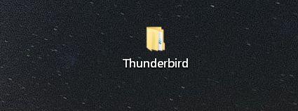 thunderbird ordner - Thunderbird zum mitnehmen