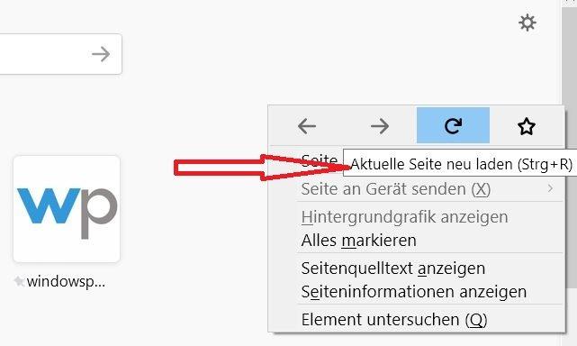 tooltip angezeigt - Firefox Tooltip im Rechtsklick Kontextmenü deaktivieren