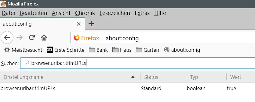 vorher 1 - Firefox auch die http Anzeige wieder vor jedem Url in der Adressleiste anzeigen