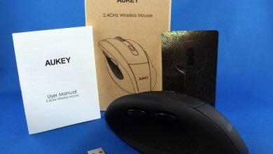 1 390x220 - Aukey KM-W9 2.4 Ghz Wireless Mouse ausprobiert