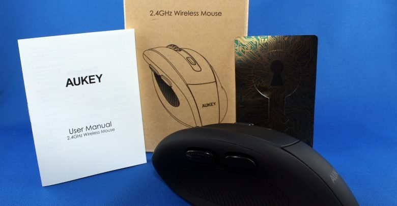 1 780x405 - Aukey KM-W9 2.4 Ghz Wireless Mouse ausprobiert