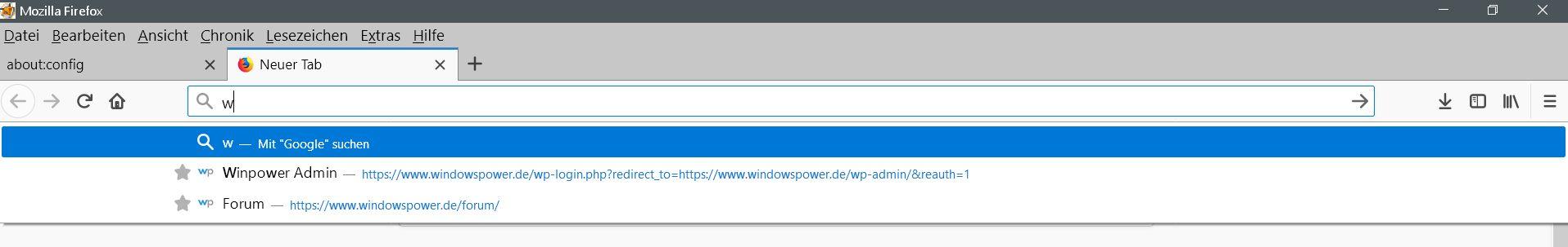 adressleiste ohne vorschlaege - Firefox Die Suchmaschinen Auswahl in der Adressleiste ausblenden