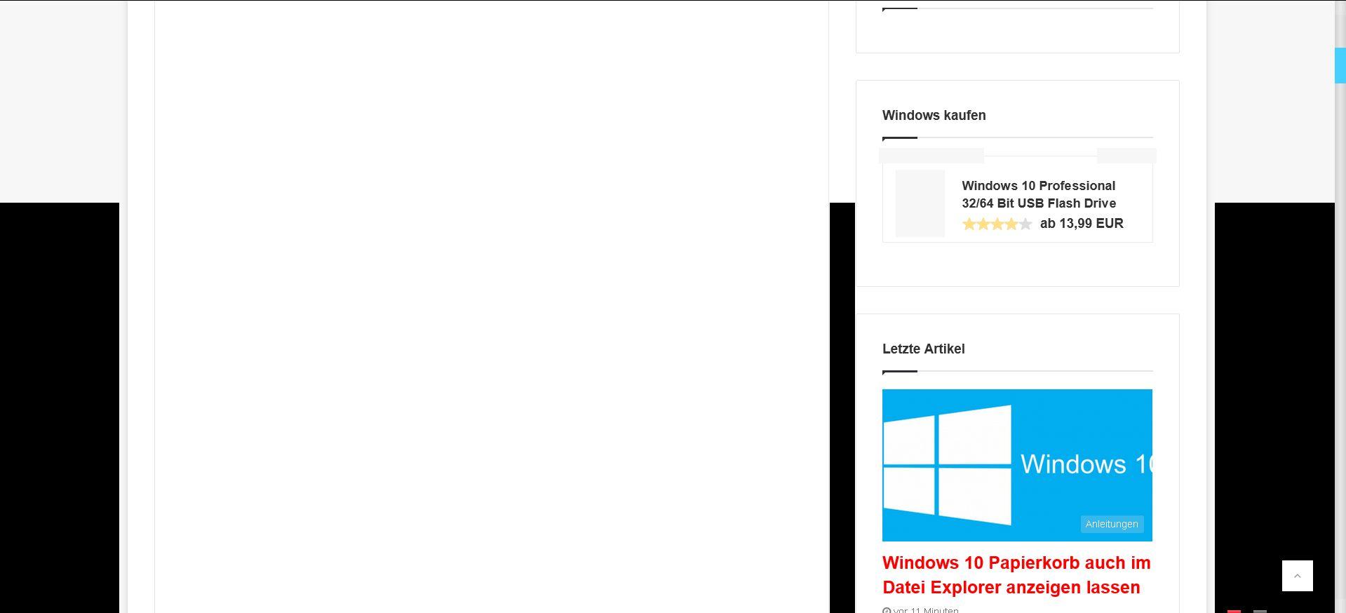 anzeigenfehler - Firefox Grafikfehler in der neuen Version 59
