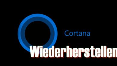 cortana for windows 10 390x220 - Windows 10 Cortana & Windows wiederherstellen