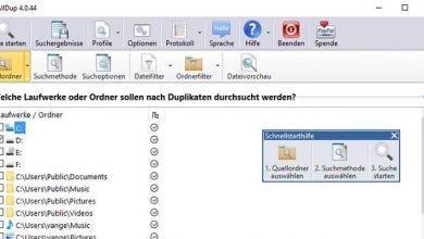 doppelte dateien finden festplatte 390x220 - Doppelte Dateien finden auf dem Computer externe Festplatten USB-Sticks