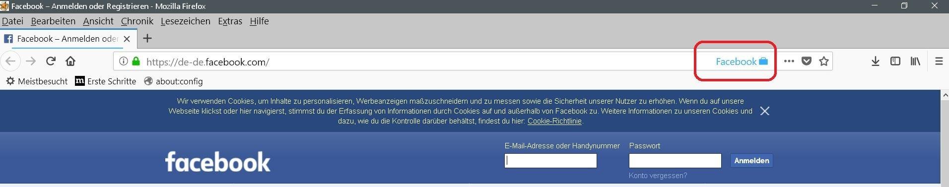 facebook-container-urlbar