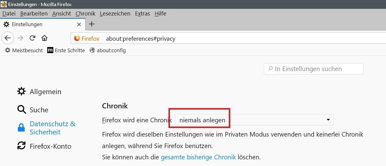 privater modus - Firefox Webseiten melden Bitte Adblocker deaktivieren, obwohl keiner aktiviert ist