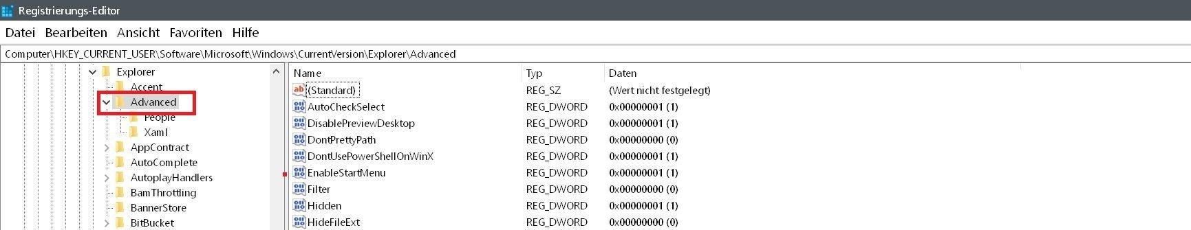 Windows 10 Uhrzeit in der Taskleiste mit Sekundenanzeige 4