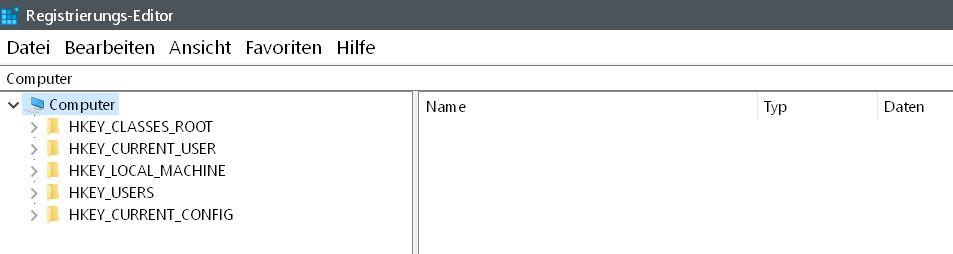 reg start - Windows 10 Screenshots - die Nummerierung zurücksetzen auf 0