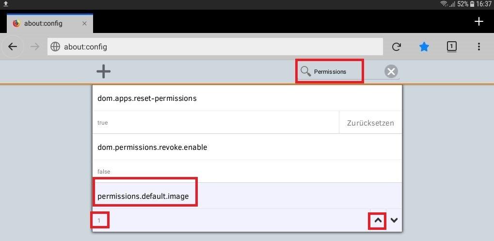 standard - Android Datenvolumen sparen mit Firefox