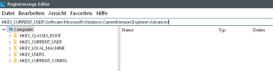 Windows 10 Uhrzeit in der Taskleiste mit Sekundenanzeige 3