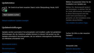 Bild von Windows 10 Update Verknüpfung auf Desktop