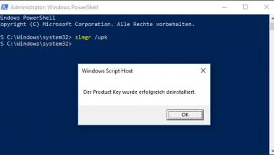windows 10 lizenz deaktivieren 390x220 - Windows 10 Lizenz deinstallieren und auf anderen Computer übertragen