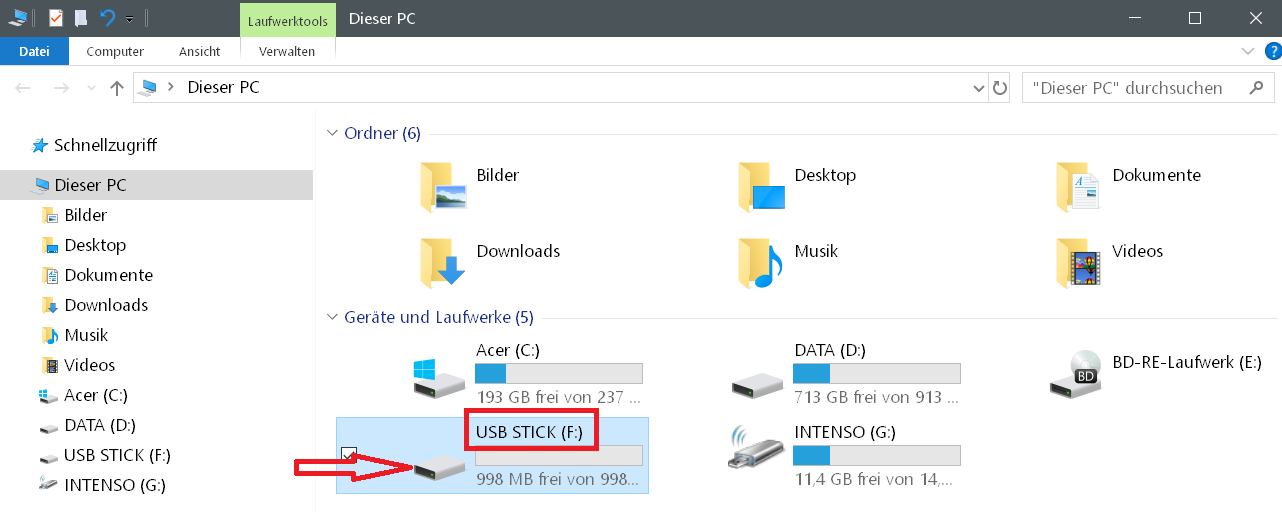 Windows 10 Hardware Icon ändern 15