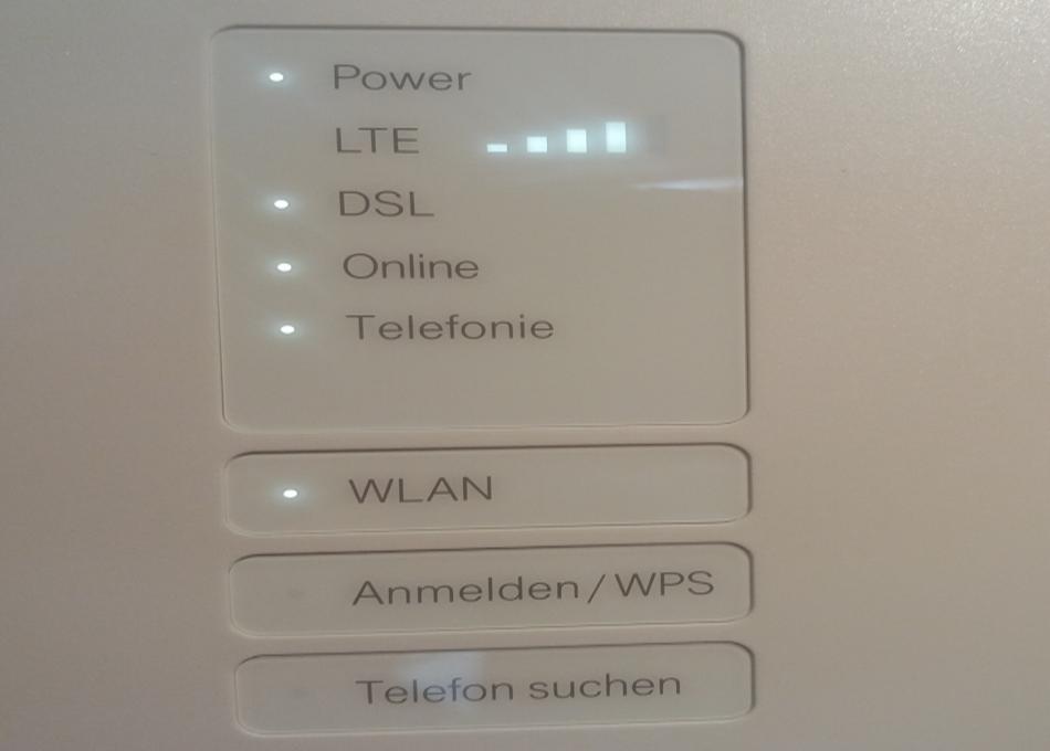 4 balken - Telekom MagentaZuhause M mit Hybrid Router