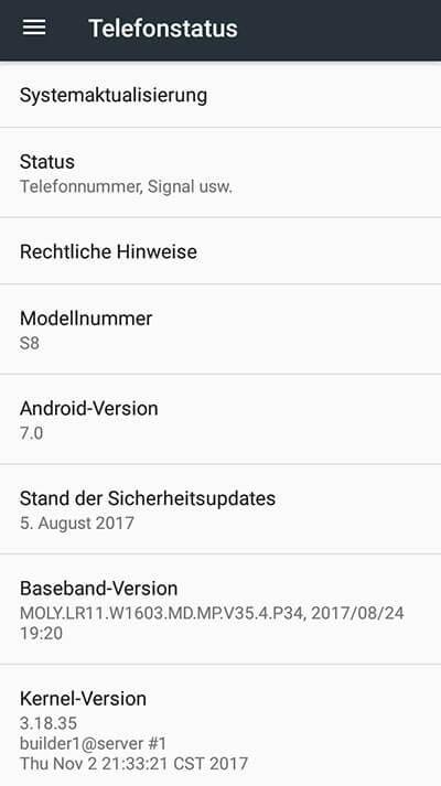 betriebssystem - Homtom S8 ausprobiert - Alternative zu Samsung, Apple und Co.?