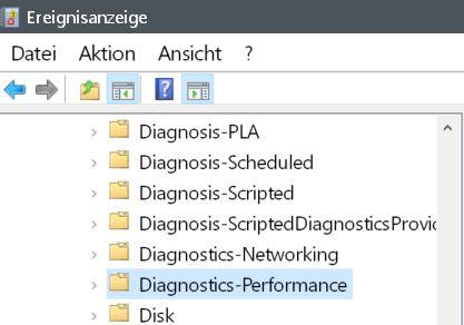 diagnostigs - Windows 10 Startzeit von seinem PC auslesen