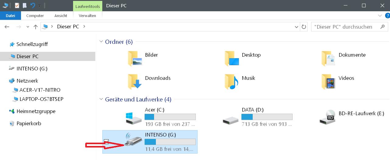 neues icon fuer g - Windows 10 Hardware Icon ändern
