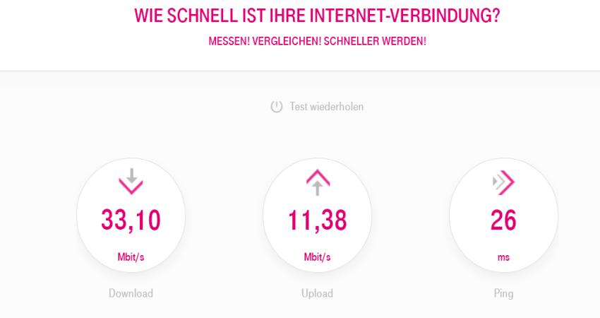 speed neu - Telekom MagentaZuhause M mit Hybrid Router