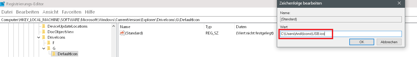 Windows 10 Hardware Icon ändern 12