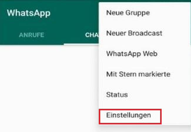 whatsapp einstellungen - WhatsApp Menge der verschickten und empfangenen Daten anzeigen