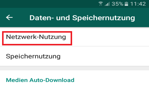 whatsapp netzwerknutzung - WhatsApp Menge der verschickten und empfangenen Daten anzeigen