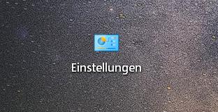 einstellungen komplett - Windows 10 Godmode Ordner erstellen