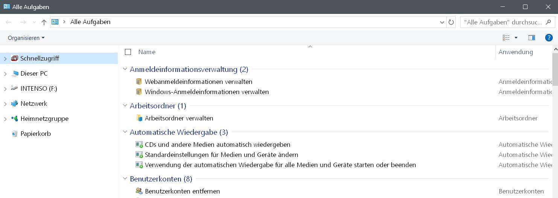 godmode ordner - Windows 10 Godmode Ordner erstellen