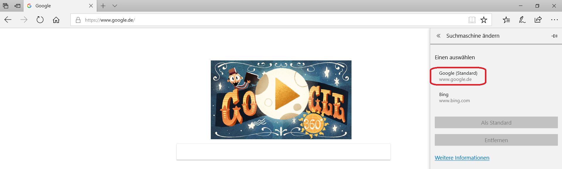 google-als-standard
